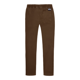 Men Others Solid - Men Jogging Gabardine Pants, Chocolate back