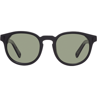 Sunglasses Solid - Polarised Khaki Sunglasses, Black front