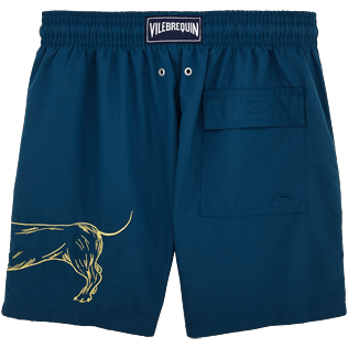 Men Classic / Moorea Embroidered - Sunny Dog Embroidered Swimshort, Spray back