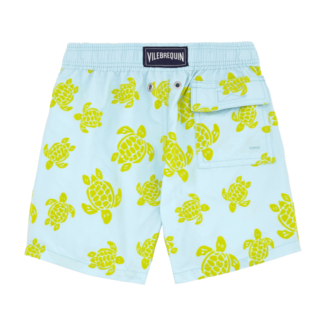 Vilebrequin - Flocked Turtle Print Swim Shorts - 2