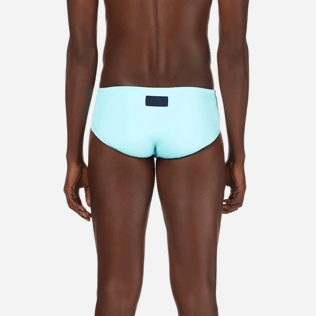 Men Swim brief and Boxer Solid - Men Fitted Swim briefs Solid, Lagoon supp2