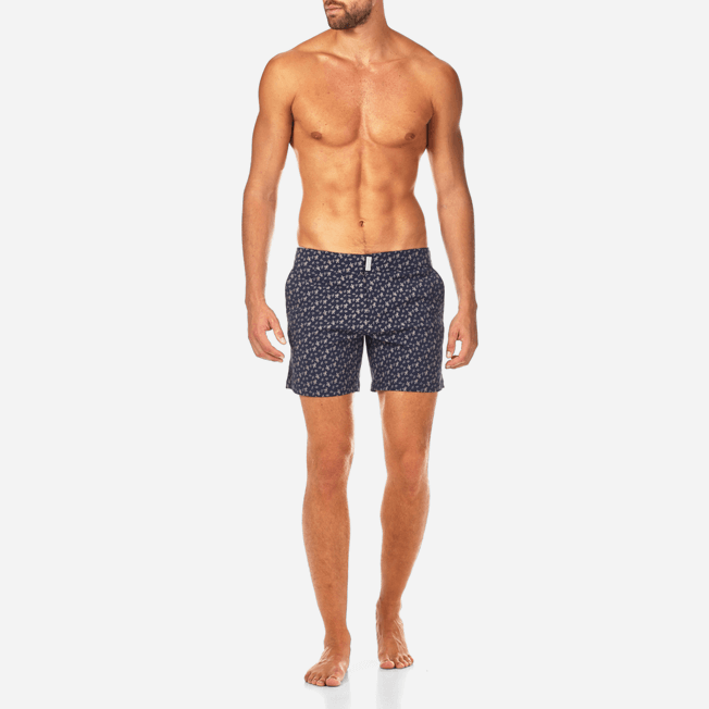 Vilebrequin - Micro Ronde des Tortues Superflex Fitted cut Swim shorts - 3