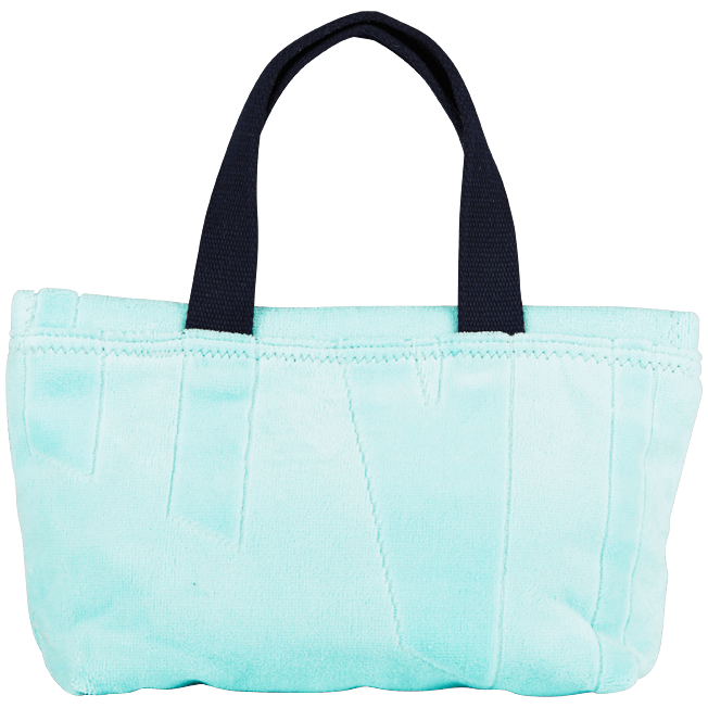Vilebrequin - Beach Pouch in Terry Cloth Solid Jacquard - 1