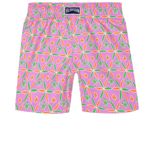 Girls Others Printed - Girls Swim Short Indian Ceramic, Pink berries back