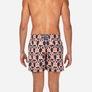 Men Classic / Moorea Printed - Primitive Turtles Swim shorts, Navy supp2