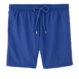 Men Classic Solid - Men Swimtrunks Solid, Sapphire front