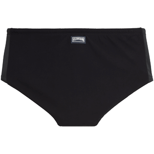 Men Short, Fitted Solid - Tuxedo Tuxedo swim briefs, Black back