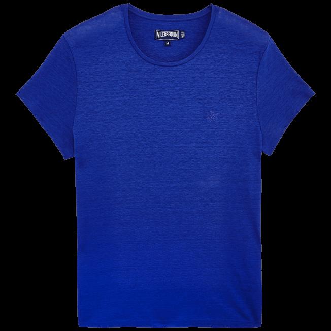 Vilebrequin - Camiseta de lino lisa para hombre - 1