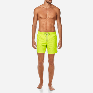 Men Classic / Moorea Solid - Solid Swim shorts, Lemongrass frontworn