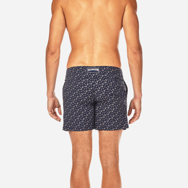Vilebrequin - Micro Ronde des Tortues Superflex Fitted cut Swim shorts - 6