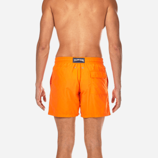 Men Classic / Moorea Printed - Water-reactive Danse du feu Swim shorts, Papaya supp2