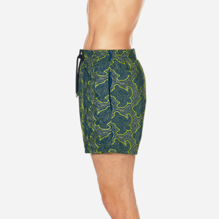 Men Embroidered Embroidered - Men Swimtrunks Embroidered Hypnotic Turtles - Limited Edition, Spray supp3