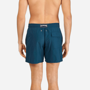 Men Classic / Moorea Embroidered - Men Swimtrunks Placed Embroidery Birds of Paradise, Spray supp2