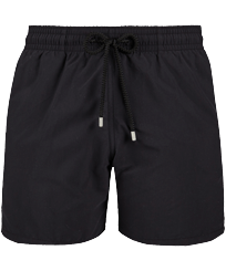 Men Classic Solid - Men Swim Trunks Solid, Black front
