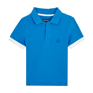 Boys Others Solid - Cotton Boys Polo Shirt Solid, Atoll front