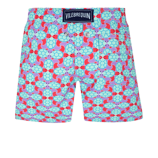 Niños Autros Estampado - Bañador con estampado Data Turtles para niño, Cherry blossom back