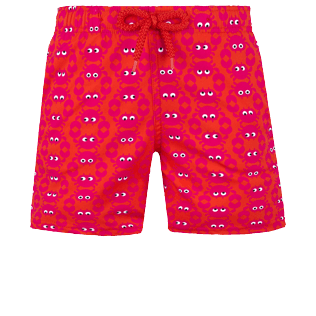Boys Others Printed - Boys Swimwear Stretch Crabs, Medicis red front