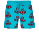Boys Others Printed - Boys Swim Trunks Floked Pranayama, Light azure front