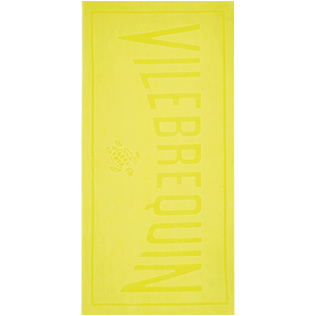 Others Solid - Beach Towel Solid, Lemon front