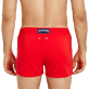 Men Short classic Solid - Men Swimwear Short and Fitted Stretch Solid, Medicis red supp1