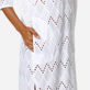 Women Others Embroidered - Women Cotton Beach Cover-up Broderies Anglaises, White supp1