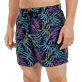 Men Classic Embroidered - Men Swim Trunks Embroidered Jungle - Limited Edition, Midnight blue supp1