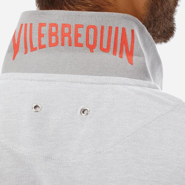 Vilebrequin - Polo en Piqué de Coton Homme Uni - 5