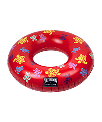 Others Printed - Inflatable Pool Ring Ronde des Tortues - VILEBREQUIN X SUNNYLIFE, Poppy red front