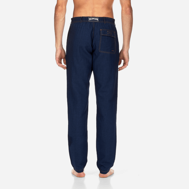 Vilebrequin - Pantalones color añil - 5