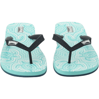 Men Others Printed - Men Flip Flop Hypnotic Turtles, Lagoon supp1