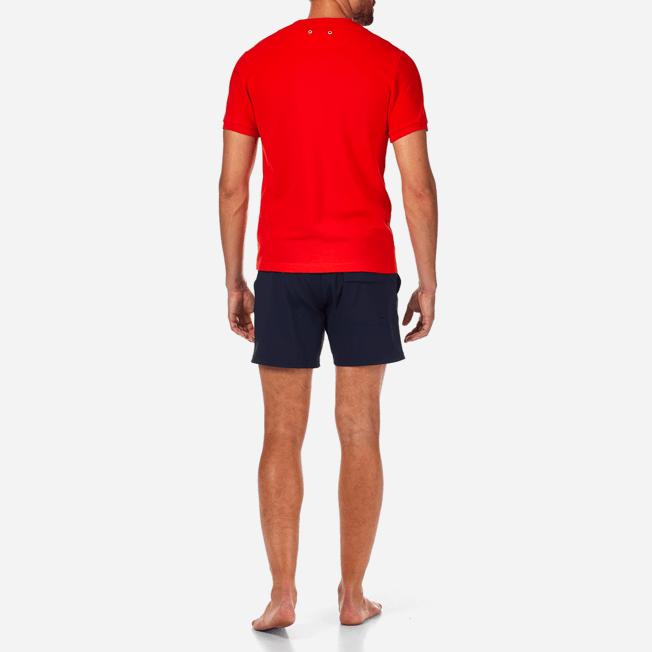 Vilebrequin - Camiseta en piqué de algodón liso - 4