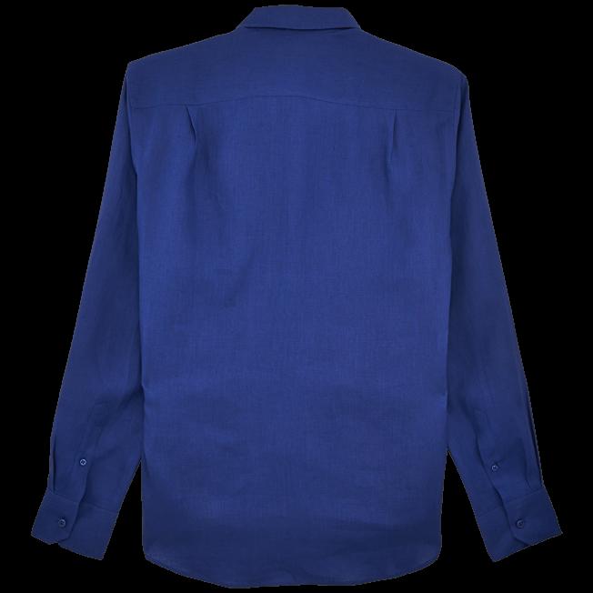 Vilebrequin - Men Linen Shirt Solid - 2
