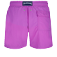 Men Classic Solid - Men Swim Trunks Solid, Orchid back