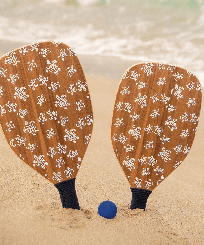 Others Printed - Wooden Beach Paddles, Unique frontworn