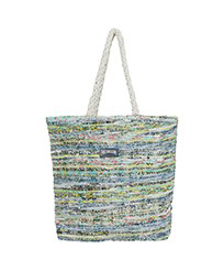 Others Printed - Large Beach Bag Eco-friendly, Green front