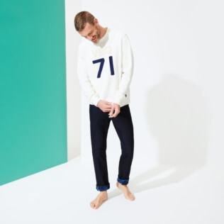 Men Others Solid - Men Crew Neck Sweater VBQ71, Off white supp1