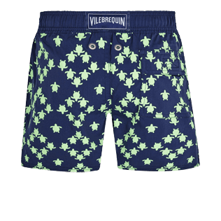 Boys Others Printed - Boys Swim Trunks Stretch Squad Turtles, Navy back