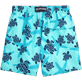 Men Classic Printed - Starlettes & Turtles Swim shorts, Lagoon back