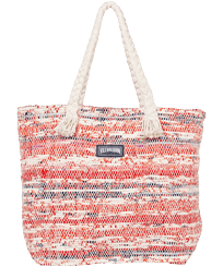 Others Printed - Large Beach Bag Eco-friendly, Red front