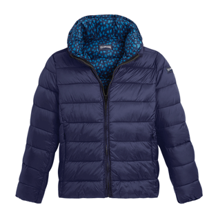 Others Printed - Men 3-in-1 Jacket Micro Turtles, Navy supp3