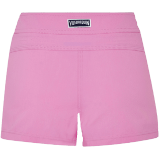 Women Others Solid - Women Stretch swim short Solid, Petunia back