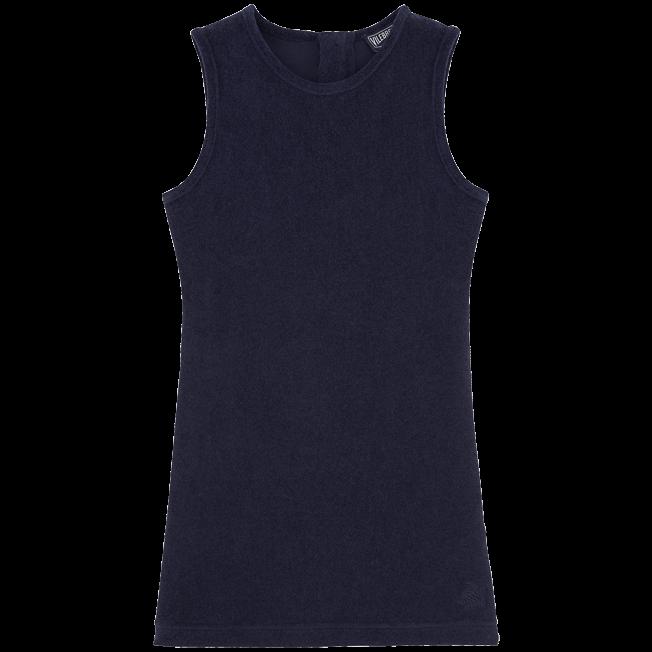 Vilebrequin - Robe sans manches Éponge Unie - 1