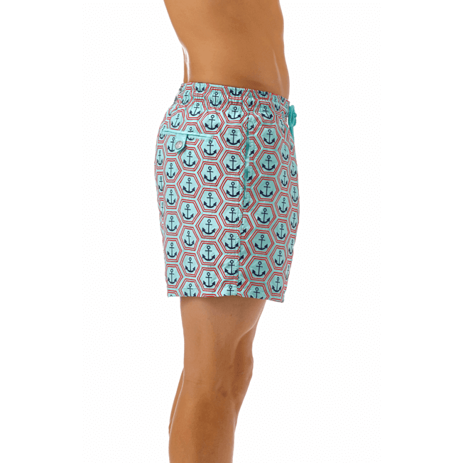 Vilebrequin - All Over Anchor Embroidery Swimwear - 5