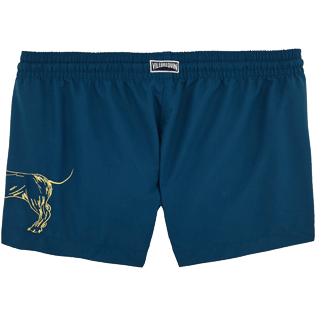Women Shorties Embroidered - Sunny Dog Embroidered Shorty, Spray back