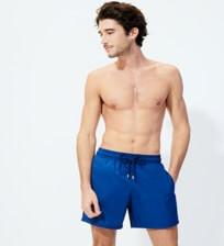 Men Ultra-light classique Solid - Men Swimwear Ultra-light and packable Solid, Batik blue frontworn
