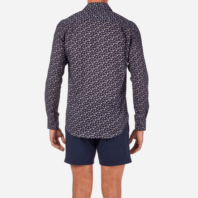 Vilebrequin - Micro Ronde des Tortues Cotton veil shirt - 6