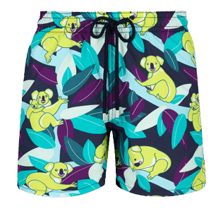Men Classic Printed - Men Swimtrunks Koalas, Navy front