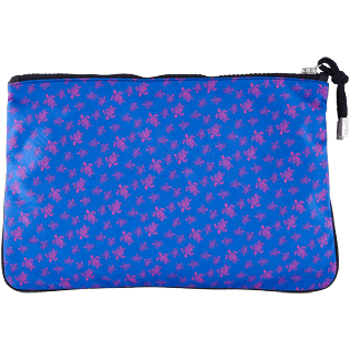 Others Printed - Beach Pouch Micro Ronde Des Tortues, Sea blue back