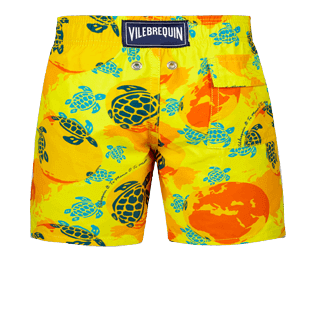 Boys Others Printed - Boys swimtrunks Mappemonde Dots - Te Mana o Te Moana, Acacia back
