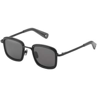 Others Solid - Smoke mono polarised Sunglasses, Black back